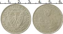 Изображение Монеты Веймарская республика 3 марки 1931 Серебро