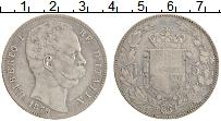 Изображение Монеты Италия 5 лир 1879 Серебро VF KM# 20