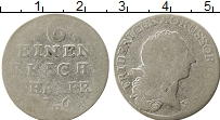 Изображение Монеты Пруссия 1/6 талера 0 Серебро