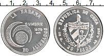 Изображение Монеты Куба 20 песо 1979 Серебро UNC-