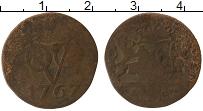 Изображение Монеты Нидерланды Нидерландская Индия 1 дьюит 1767 Медь VF