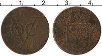 Изображение Монеты Нидерландская Индия 1 дьюит 1789 Медь  Утрехт