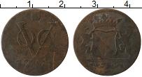 Изображение Монеты Нидерландская Индия 1 дьюит 1791 Медь VF Утрехт