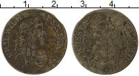 Изображение Монеты Франция 1/2 соль 1683 Серебро