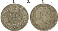 Изображение Монеты Европа Великобритания 6 пенсов 1910 Серебро XF