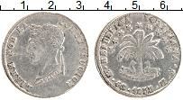 Изображение Монеты Боливия 4 соля 1855 Серебро VF
