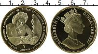 Изображение Монеты Гибралтар 1 крона 1997 Серебро UNC-