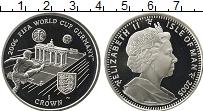 Изображение Монеты Остров Мэн 1 крона 2005 Серебро Proof-