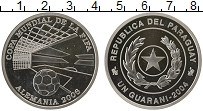 Изображение Монеты Парагвай 1 гуарани 2004  Proof- FIFA 2006