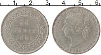 Изображение Монеты Ньюфаундленд 50 центов 1882 Серебро
