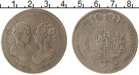 Изображение Монеты Тоскана 1 франческоне 1806 Серебро  Карл Людовик под рег