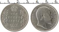Изображение Монеты Азия Индия 1 рупия 1903 Серебро