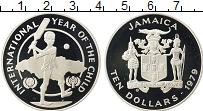 Изображение Монеты Ямайка 10 долларов 1979 Серебро Proof Международный Год Де