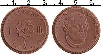 Изображение Монеты Саксония 1 марка 1921 Керамика
