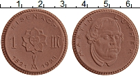 Изображение Монеты Саксония 1 марка 1921 Керамика  Айзенах