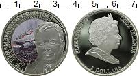 Изображение Монеты Острова Кука 2 доллара 2011 Серебро Proof