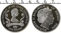 Изображение Монеты Великобритания Остров Джерси 5 фунтов 2006 Серебро Proof-