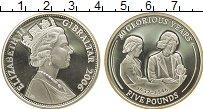 Изображение Монеты Великобритания Гибралтар 5 фунтов 2006 Серебро Proof