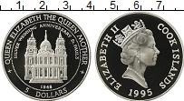 Изображение Монеты Острова Кука 5 долларов 1995 Серебро Proof