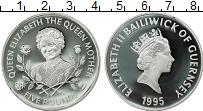 Изображение Монеты Гернси 5 фунтов 1995 Серебро Proof