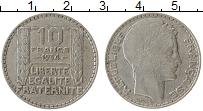 Изображение Монеты Европа Франция 10 франков 1934 Серебро VF