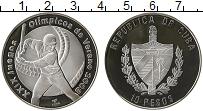 Изображение Монеты Куба 10 песо 2006 Серебро Proof-