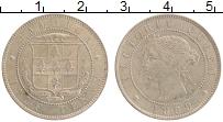 Изображение Монеты Ямайка 1/2 пенни 1869 Медно-никель XF