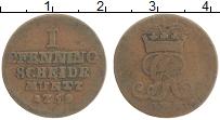 Изображение Монеты Ганновер 1 пфенниг 1759 Медь VF