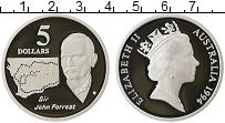 Изображение Монеты Австралия 5 долларов 1994 Серебро Proof- Елизавета II. Сэр Дж