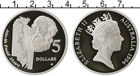 Изображение Монеты Австралия 5 долларов 1994 Серебро Proof- Елизавета II. Стюарт