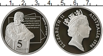 Изображение Монеты Австралия 5 долларов 1996 Серебро Proof- Елизавета II. Лавсон