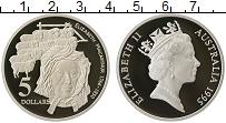 Изображение Монеты Австралия 5 долларов 1995 Серебро Proof- Елизавета II.