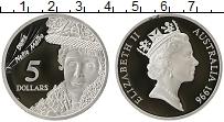 Изображение Монеты Австралия 5 долларов 1996 Серебро Proof-