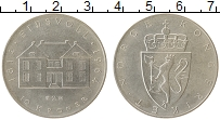 Изображение Монеты Норвегия 10 крон 1964 Серебро XF