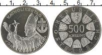 Изображение Монеты Европа Австрия 500 шиллингов 1983 Серебро UNC-