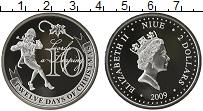 Изображение Монеты Ниуэ 2 доллара 2009 Серебро Proof-