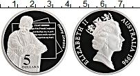 Изображение Монеты Австралия 5 долларов 1996 Серебро Proof- Елизавета II