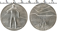 Изображение Монеты Финляндия 25 марок 1978 Серебро Proof-