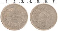 Изображение Монеты Боливия 1 боливиано 1871 Серебро XF