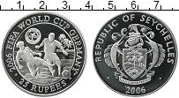 Изображение Монеты Сейшелы 25 рупий 2006 Серебро Proof