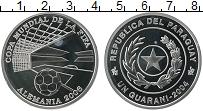Изображение Монеты Парагвай 1 гуарани 2004 Серебро Proof Чемпионат мира по фу