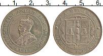 Изображение Монеты Ямайка 1 пенни 1919 Медно-никель XF Георг V