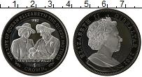 Изображение Монеты Великобритания Гибралтар 1 крона 2012 Серебро
