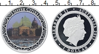 Изображение Монеты Австралия 1 доллар 2013 Серебро Proof-