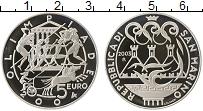 Изображение Монеты Сан-Марино 5 евро 2003 Серебро Proof