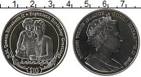 Изображение Монеты Виргинские острова 10 долларов 2006 Серебро Proof- Елизавета II