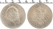 Изображение Монеты Бавария 5 марок 1911 Серебро XF Луитпольд.