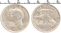 Изображение Монеты США 1/2 доллара 1921 Серебро UNC- 100-летие Алабамы.