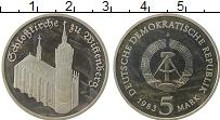 Изображение Монеты ГДР 5 марок 1983 Медно-никель Proof-
