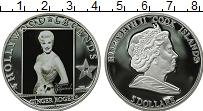 Изображение Монеты Острова Кука 5 долларов 2010 Серебро Proof Легенды Голливуда. Д